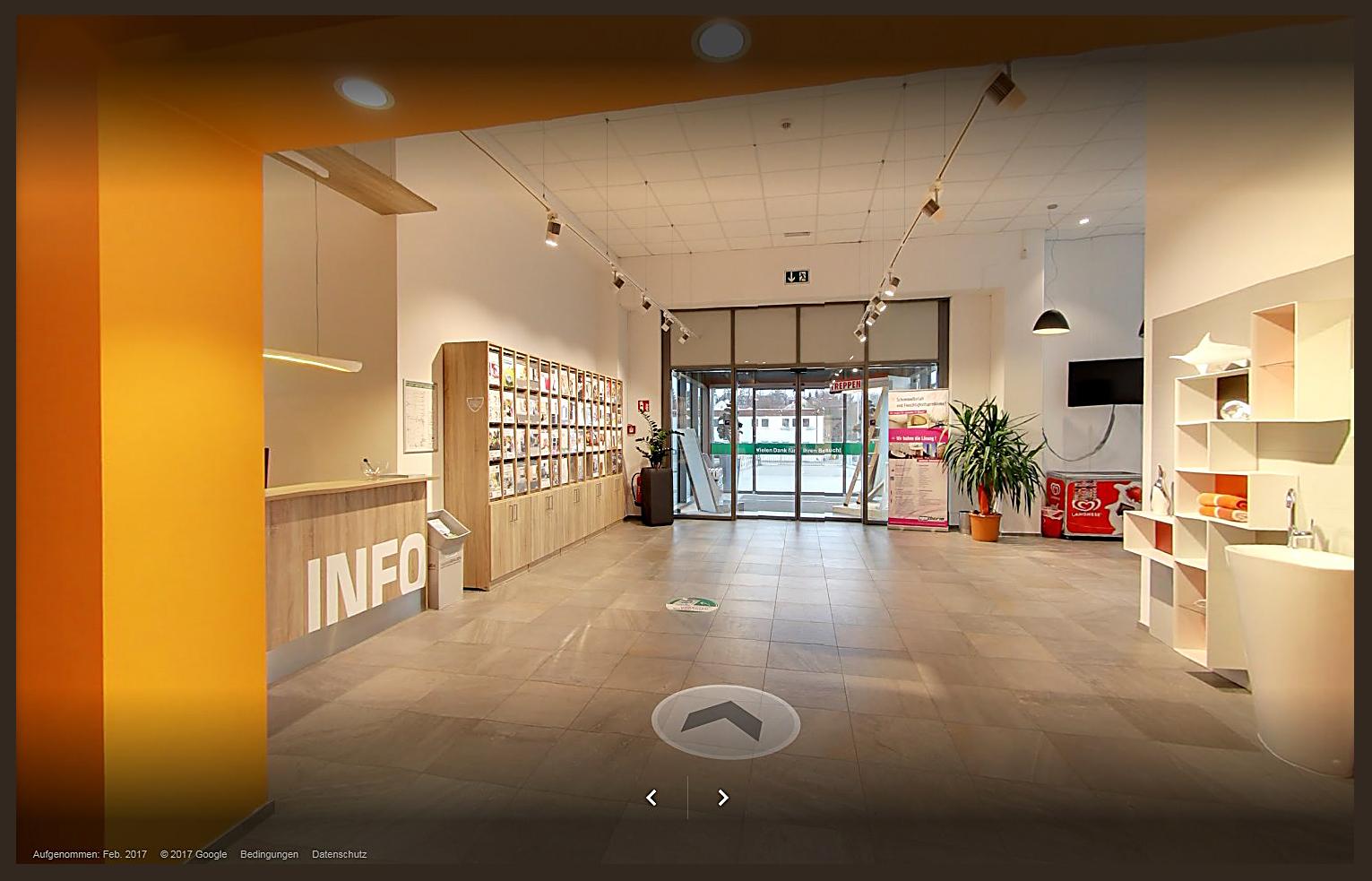 Alles fürs Bauen: Interaktiver Rundgang durch die Ausstellungshallen von unserem Baufachmarkt
